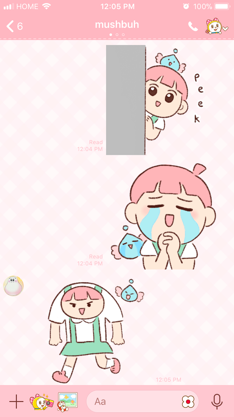 tapioca punimelt line sticker