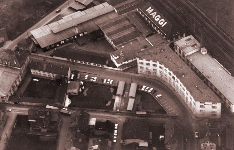 Luftbild des Maggi Areals, 1961 6
