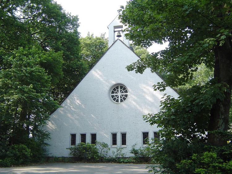 Johanneskirche Wuppertal, eine sogenannte Notkirche, 2007 9