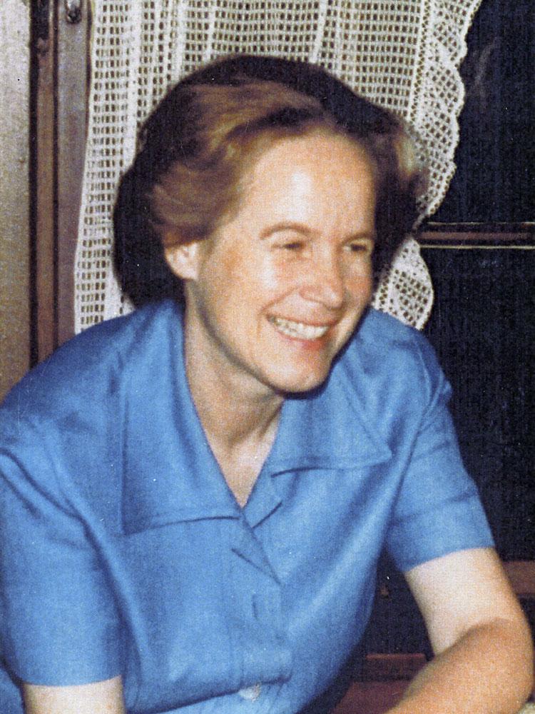 Lore Benger, um 1970 10
