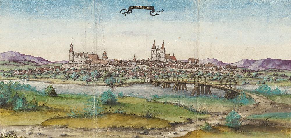 Stadtansicht Wittenberg, 1536 19