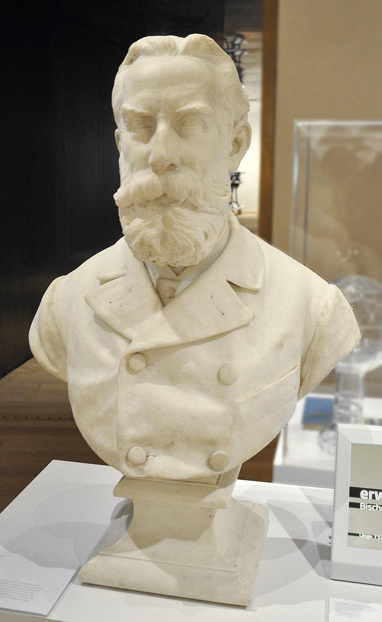 Marmorbüste Dr. Samuel Jenny von Georg Feuerstein, 1902 34