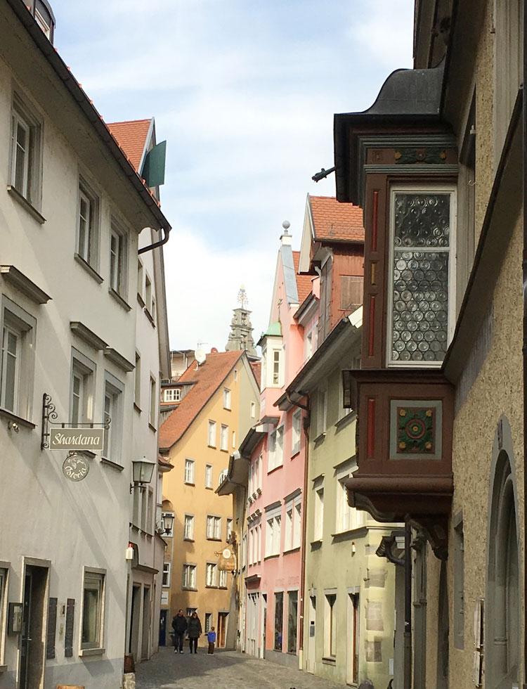 Blick in die Altstadt von Lindau, 2017 25