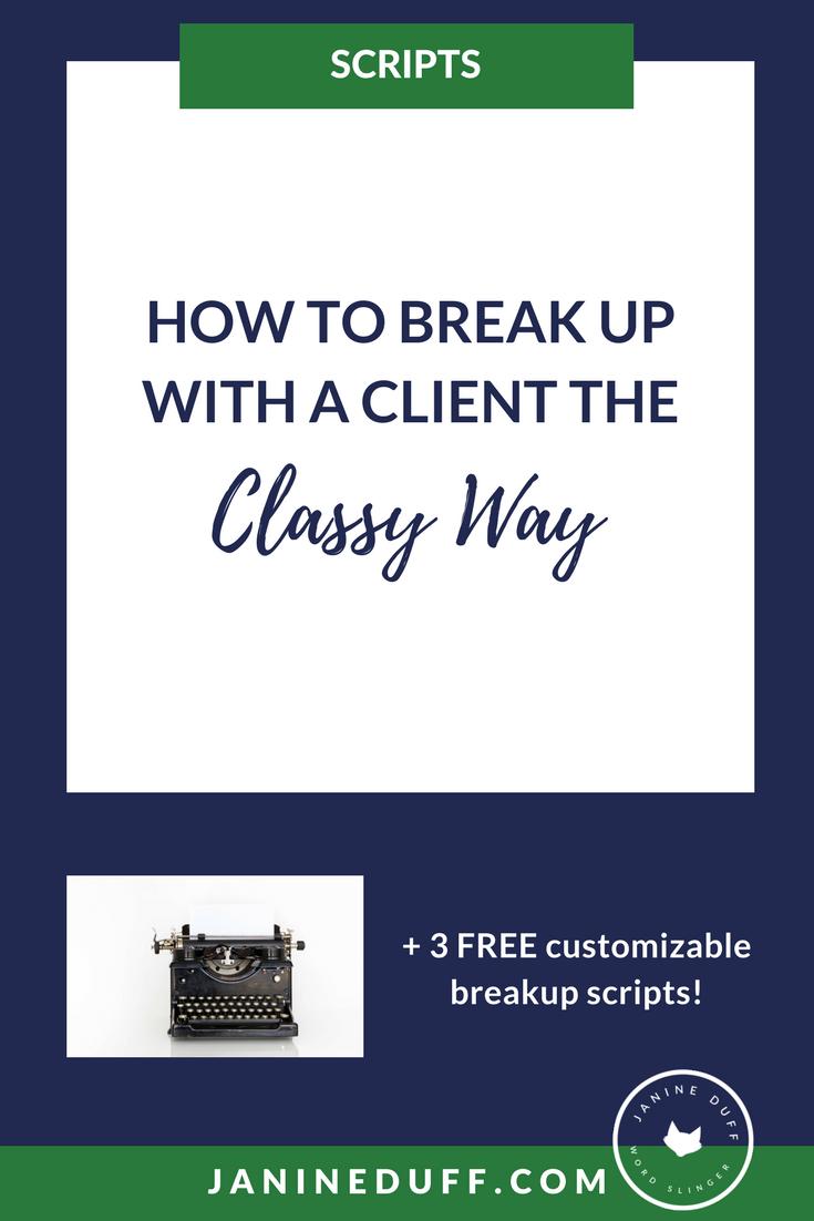 clientbreakupscripts