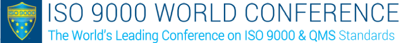 ISO 9000 conference logo