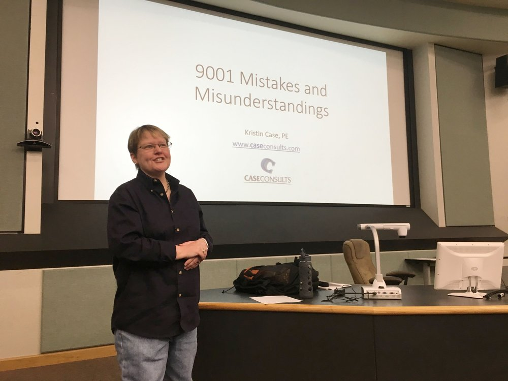 Speaking to OSU IEM undergrad Quality Control