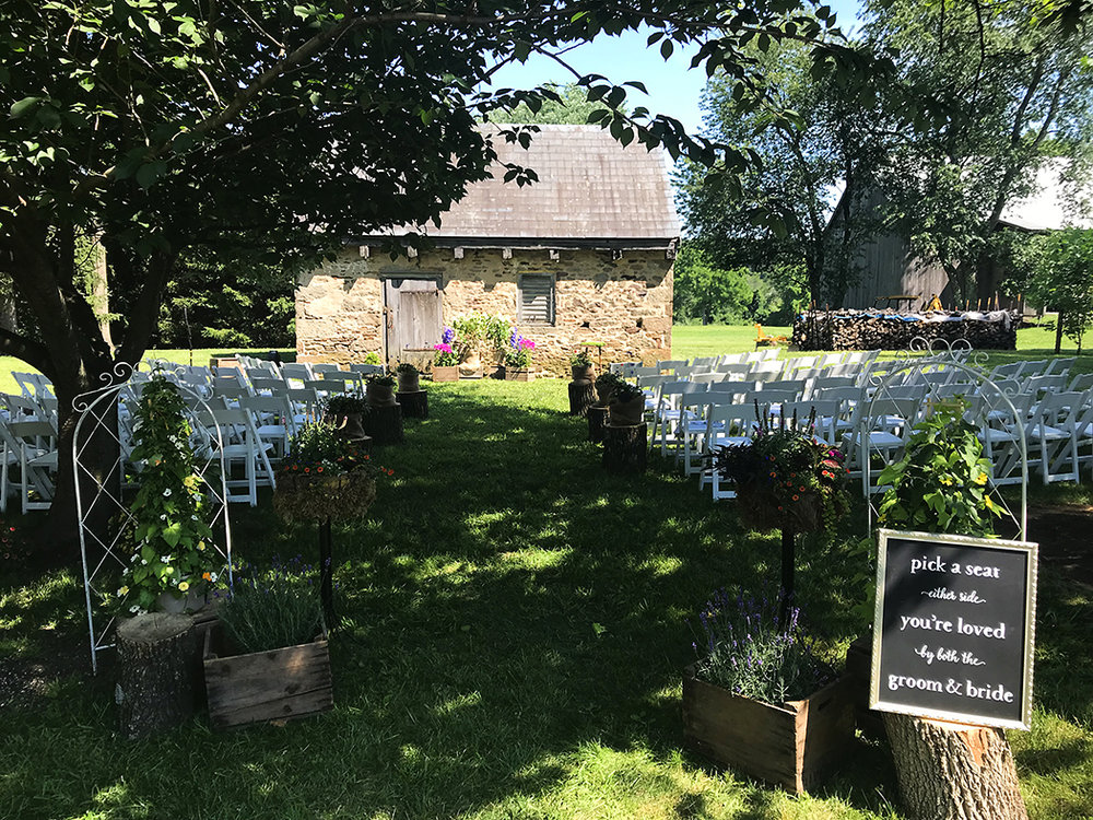 A nice spot for a wedding.