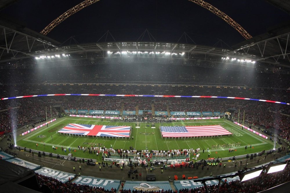 Wembley Stadium is a regular venue used for hosting NFL games.
