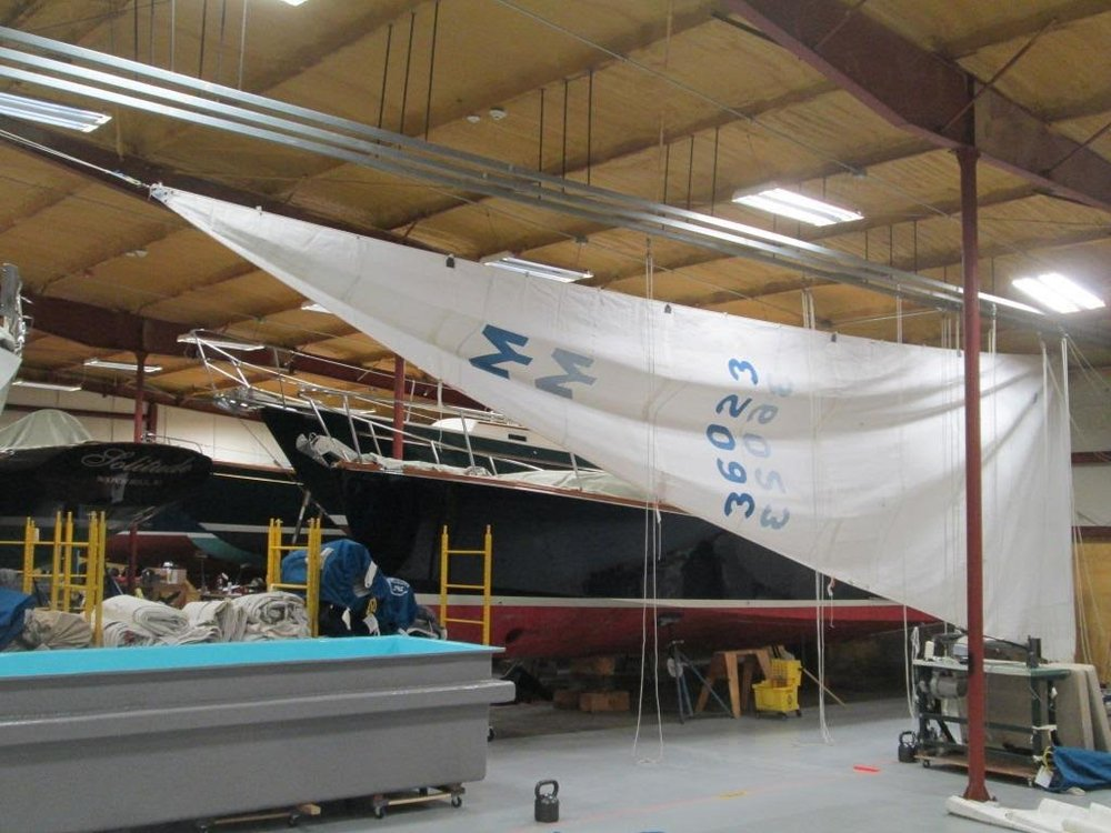 Sail care in Dodson's Hopkinton, Rhode Island facilities.