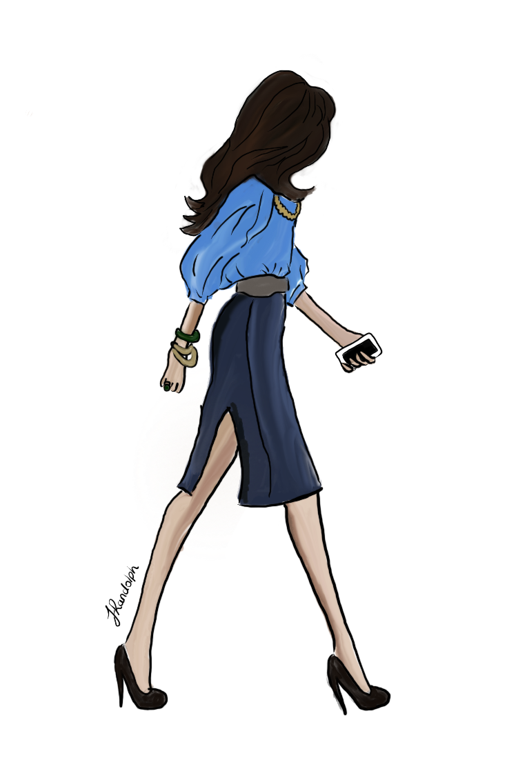 Woman illustration blue blouse.png