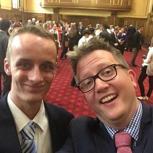 A posh day out in London with Sam celebrating the #clothworkersfoundation 40th Birthday. Thanks for supporting our work. #socent #bristol #charity
