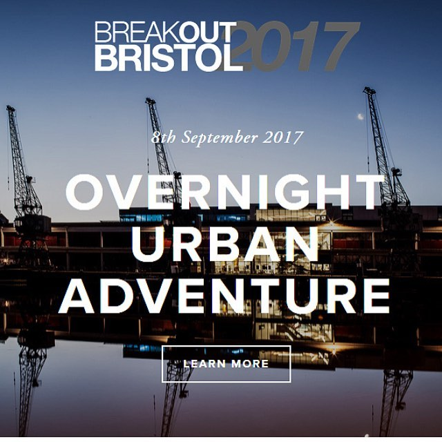 Fancy a corporate challenge with a difference? Breakout Bristol is an Overnight Urban Adventure challenge. It's the perfect opportunity for networking, team building and raising a bit of money for our new hostel. Link in the biog for more info. #bristol #teambuilding #urban #adventure #overnight #networking #socent #charity #fundraiser #fundraising