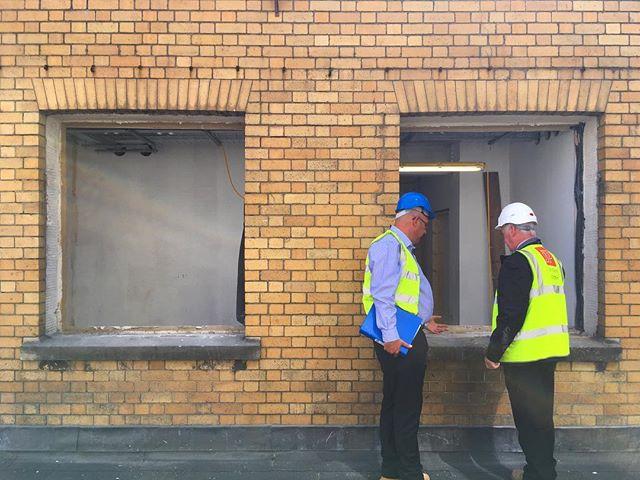 #bristol #hostel #windows #heritage #hlf @johnperkinsconstruction @clementwindows