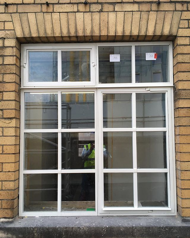 I know you've all been waiting for a shot of the new windows! So here is the first one... #bristol #hostel #socent #ymca #charity #windows
