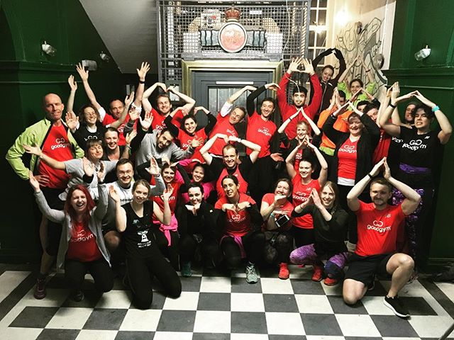 Completely blown away by the energy, drive and altruism of this lovely bunch from @goodgym Bristol. They helped us get through some serious hard work that would have taken us days. It took them less than an hour!  THANK YOU! #bristol #goodgym #goodgymbristol #ymca #hostel
