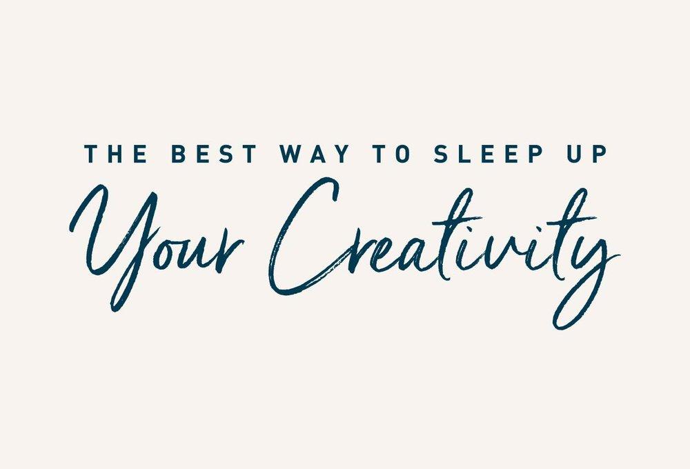 My Luxury Linen The best way to sleep up your creativity