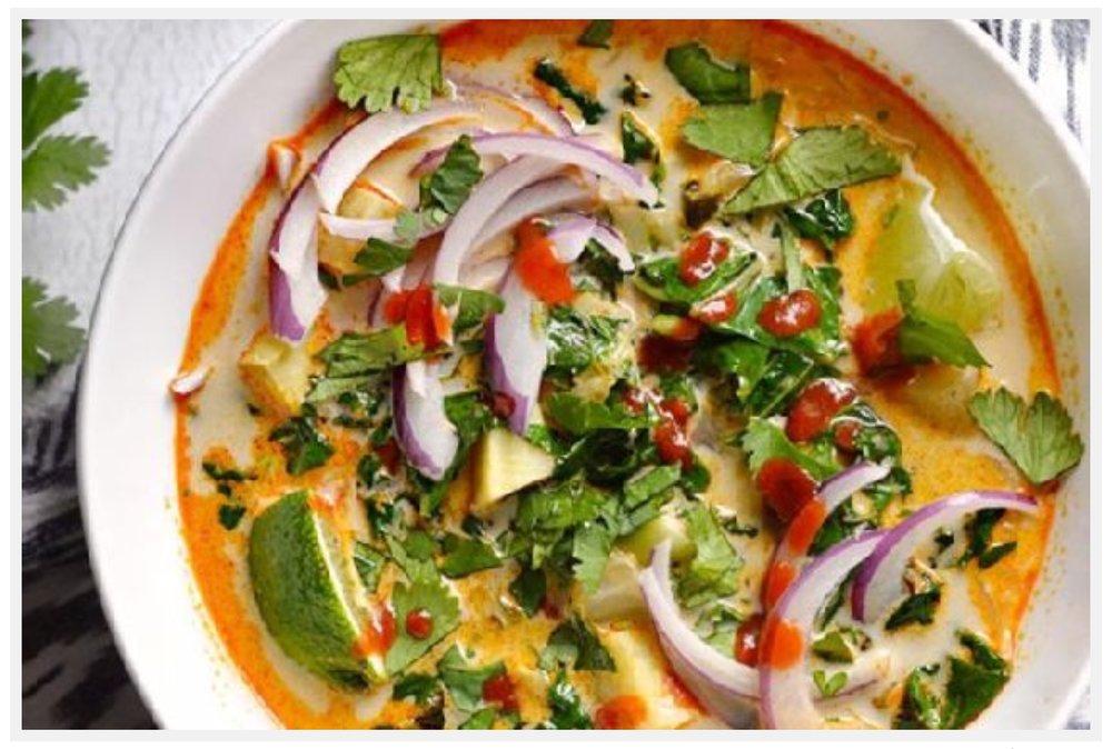 10-Spice Vegetable Soup