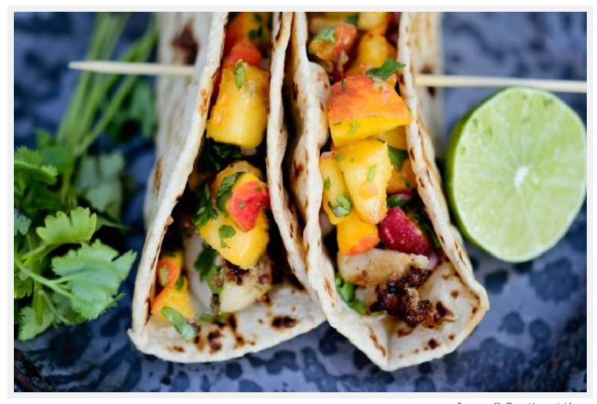 Fish Tacos With Mango