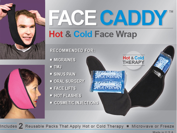 Face Caddy Hot and Cold Therapy Wrap