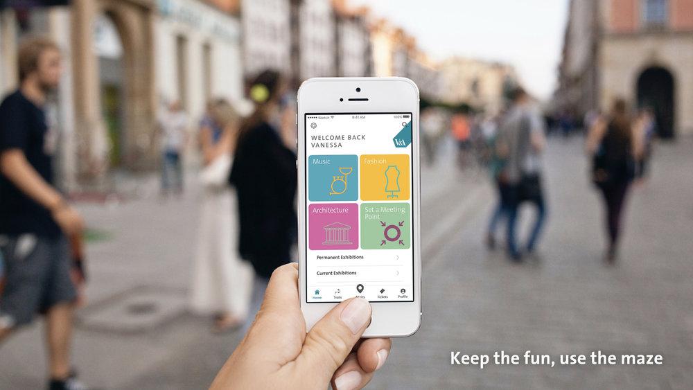 V&a app -