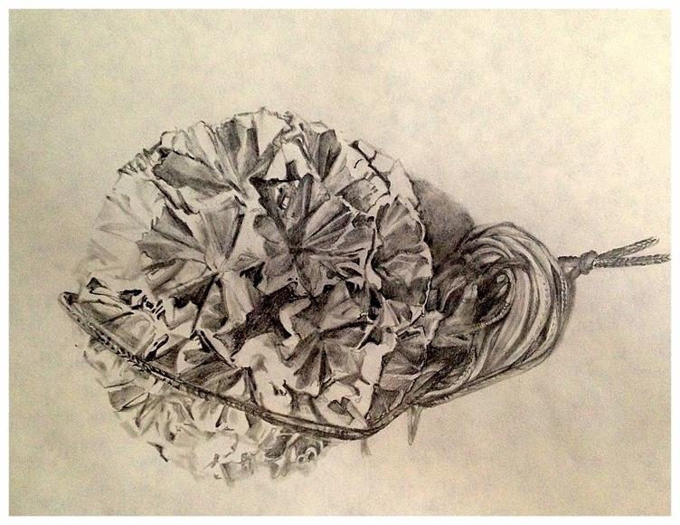 Deb's Origami drawing