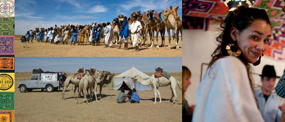 2012 - Le Festival nomade rassemble de plus en plus de nomades et de «nomadophiles » à Montréal et en Mauritanie.En Mauritanie, de nombreux événements voient le jour. Une grande course de chameaux est organisée pour les femmes, une autre pour les hommes. Beaucoup d'autres activités se font par et avec des femmes.L'immense artiste mauritanienne Malouma, connue aussi pour ses combats politiques, nous fait l'honneur de chanter sous la tente.Avec ses amis Adam Shamash, Stephen Fuller et Julie Strand Offerdal, Atigh, le responsable du Festival nomade, voyage dans le désert dans un vieux Land Rover G849. Il veut recréer l'esprit d'aventure que l'on retrouve dans les films américains classiques. Les participants vivent également la vie des nomades en caravane pendant plusieurs semaines. Ils apprennent à monter les chameaux et parcourent le désert à la recherche de pâturages pour leurs animaux.Le Festival nomade se terminer par une flamboyante course de chameaux à laquelle sont conviés les nomades du monde entier... Mythique!La même année, à Montréal, le Festival nomade redéploie sa khaïma. Le public est invité à des conférences sur le nomadisme, des expositions et des spectacles de musique, de danse et de paroles. S'appuyant sur le succès des éditions montréalaises antérieures et sur la réputation acquise auprès du public québécois et canadien, le Festival offre une programmation encore plus étoffée. Cela permet de sensibiliser un auditoire toujours plus nombreux aux questions nomades ainsi qu'aux cultures mauritaniennes.