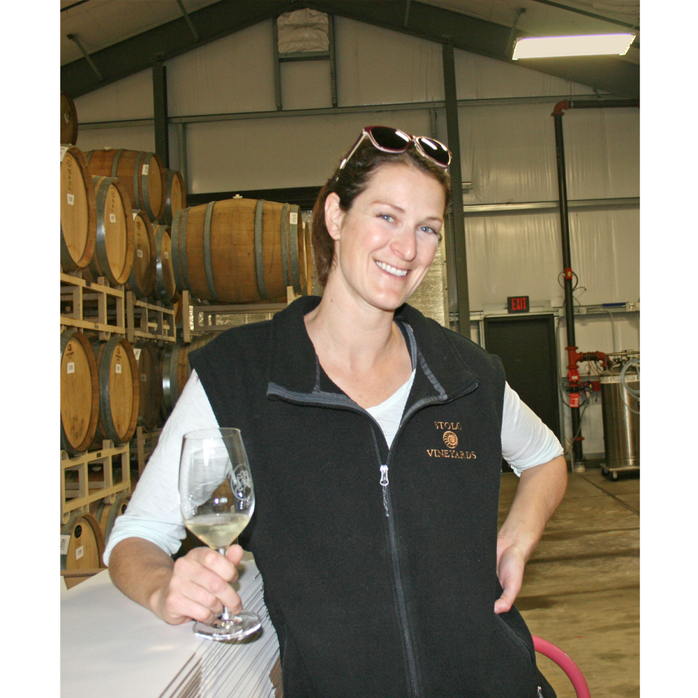 Stolo Family Vineyards Winemaker Nicole Bertotti Pope creates aromatic, fresh, and vibrant estate wines grown less than 3 miles from Cambria's scenic coast.
