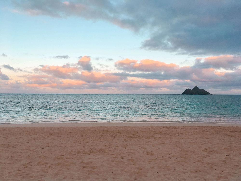 Hawaii Oahu Laniakea Beach