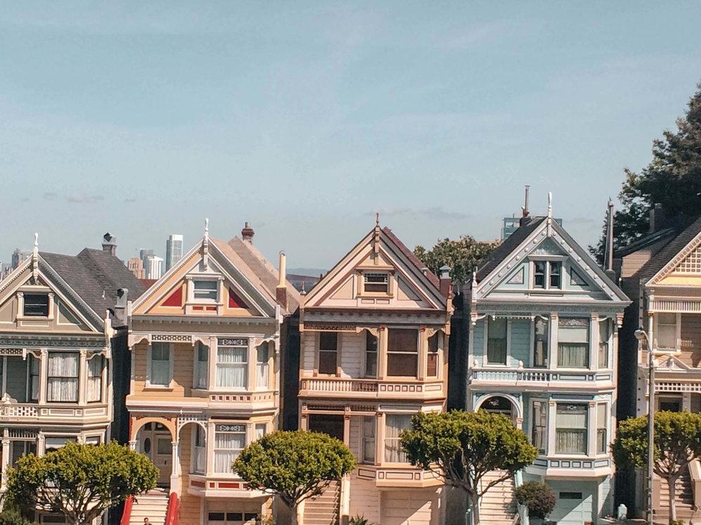 San Francisco Top 10 Things Painted Ladies