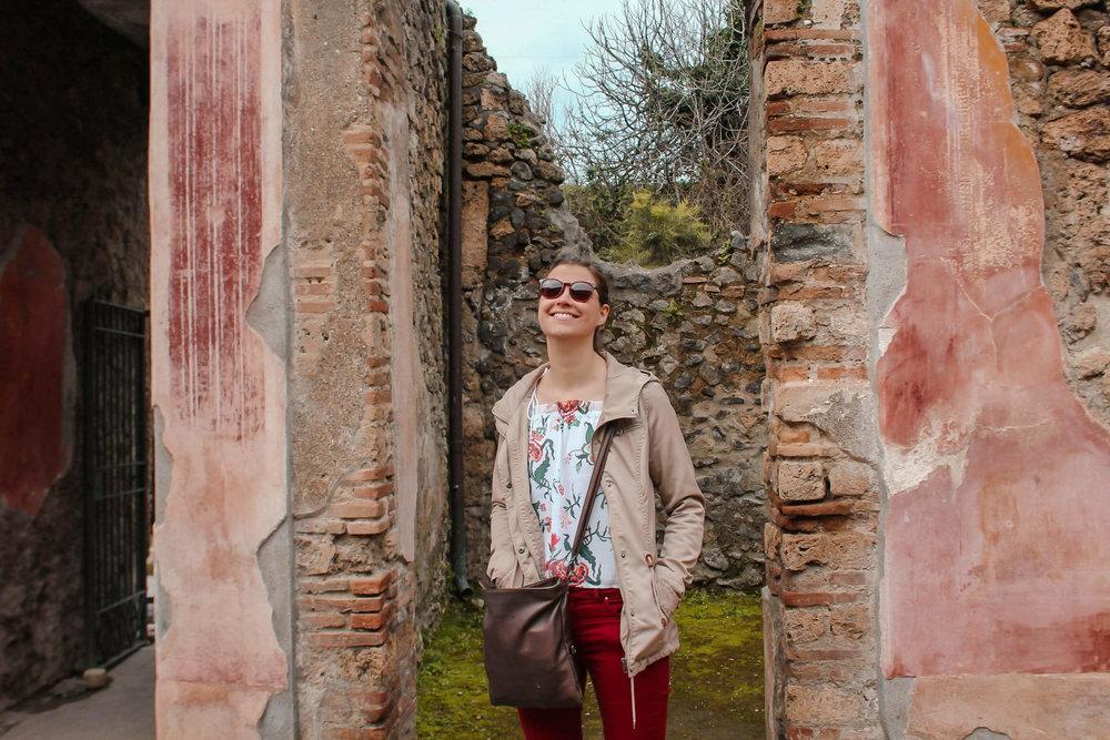 Tips for Pompeii Kate Rebel