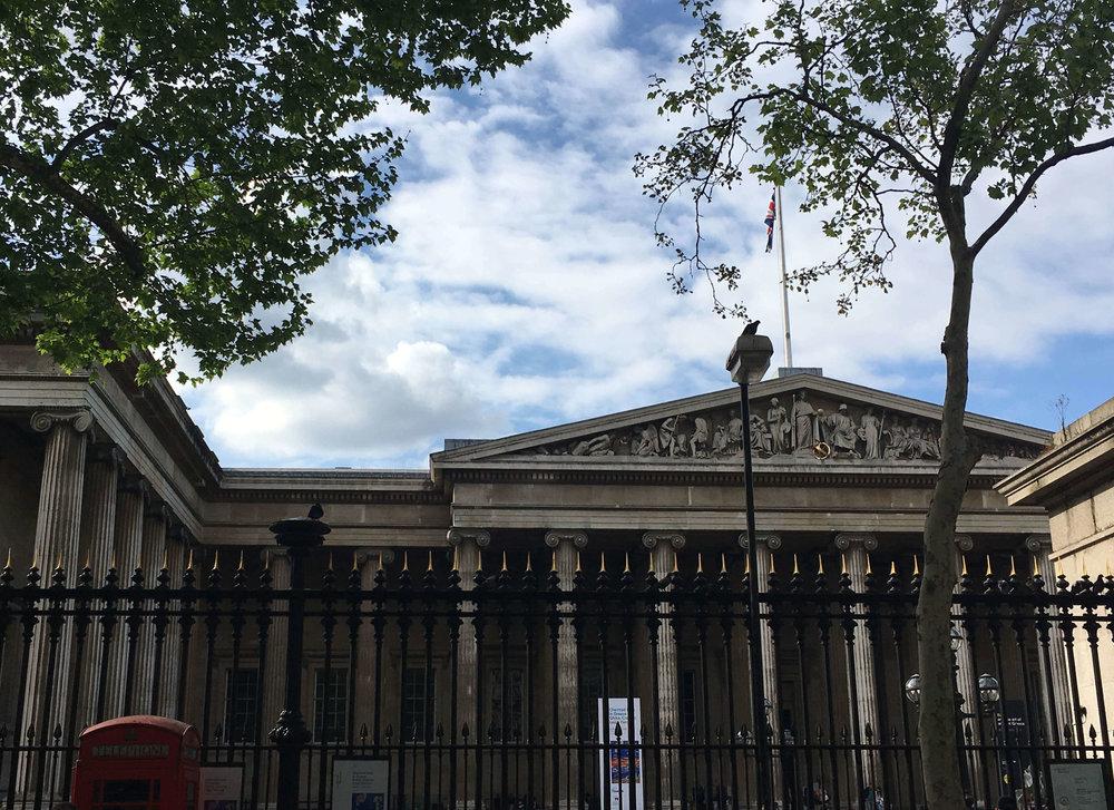 Kate Rebel British Museum London UK