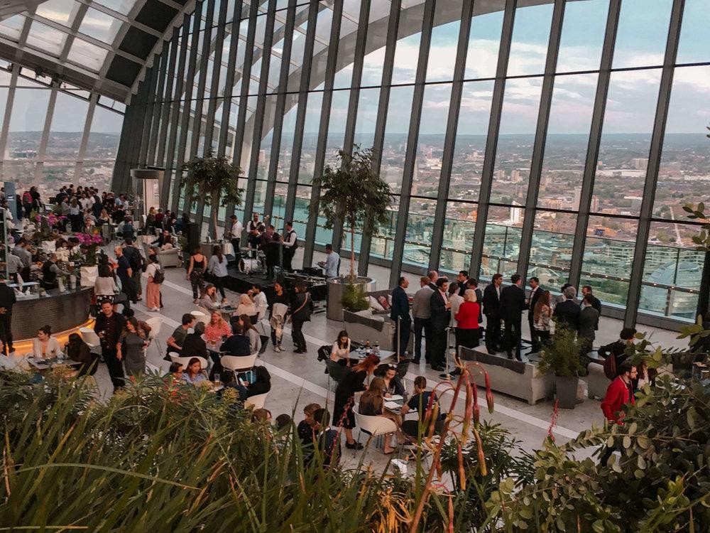 Kate Rebel Sky Gardens London UK