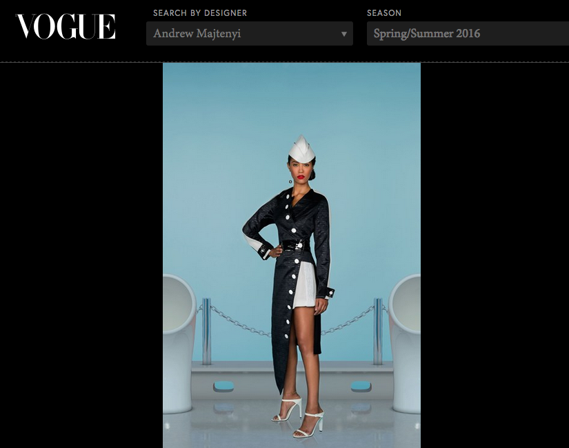 My first feature in the world of Vouge -