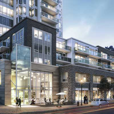 The Alexander - Mixed Use / Multi-unit Residential