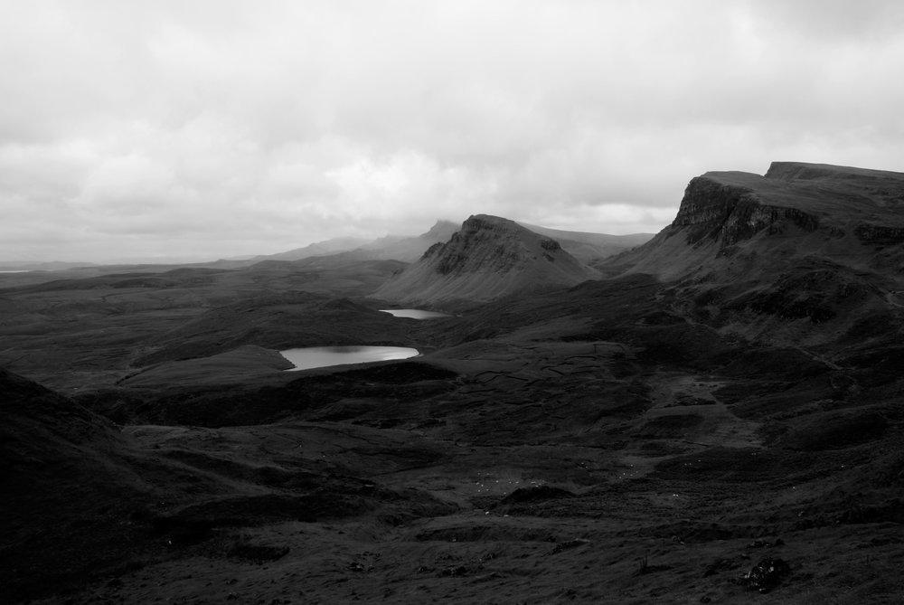 Isle of Skye Scotland lochs