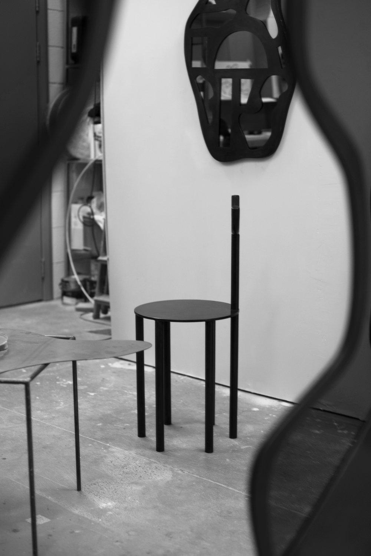 c.a. walac. artist's studio 2019 by Natalia Poniatowska