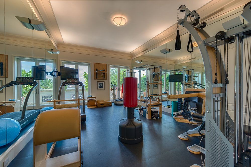 Upstairs Gym