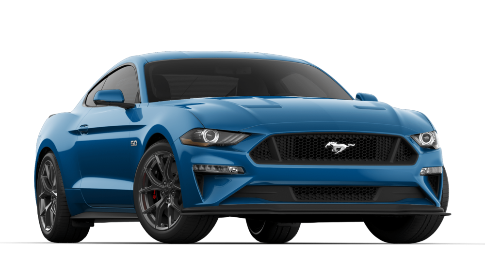 V8 GT PREMIUM 401A$52,125 - + VELOCITY BLUE+ 6-SPEED MANUAL TRANSMISSION+ GT PERFORMANCE PACKAGE 2+ QUAD TIP ACTIVE EXHAUST