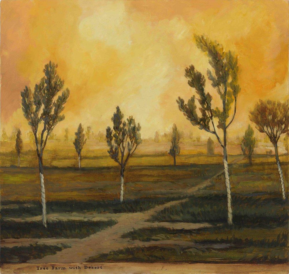 Tree Farm with Desert