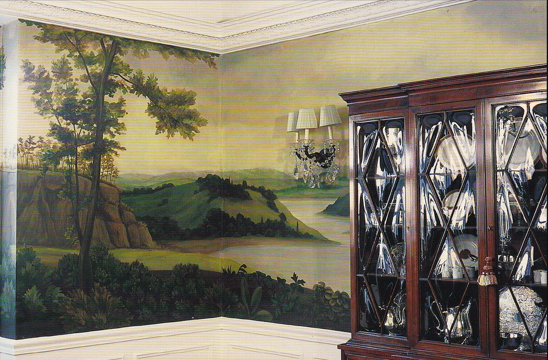 Residential Mural Dining Room