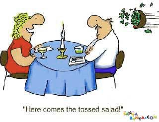 3 tossed salad