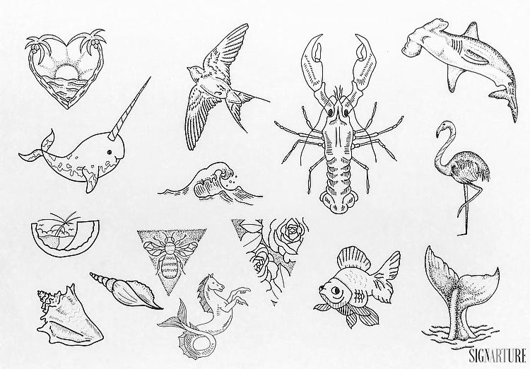 Summer Flash Tattoo Special | Signarture GmbH