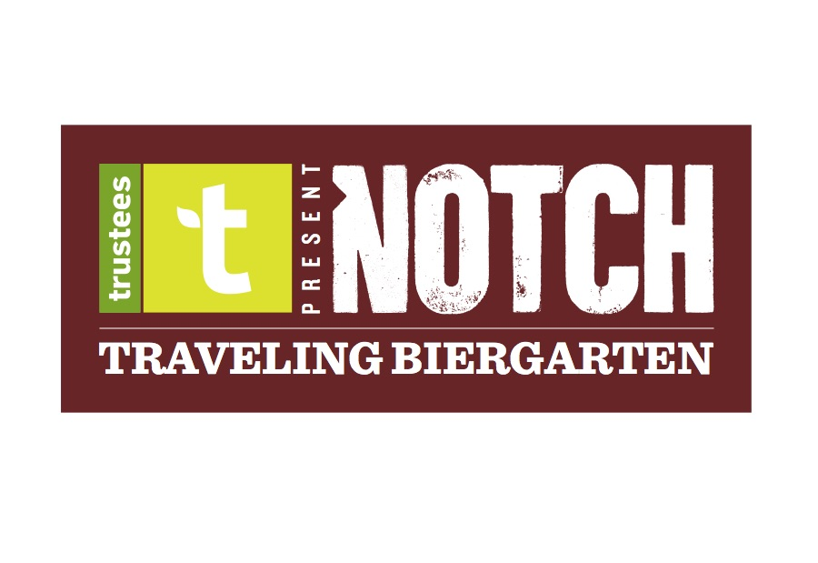 Notch is proud to partner with The Trustees to bring you a series of public, familty-friendly Traveling Biergarten events in some of Massachusetts' most scenic places.