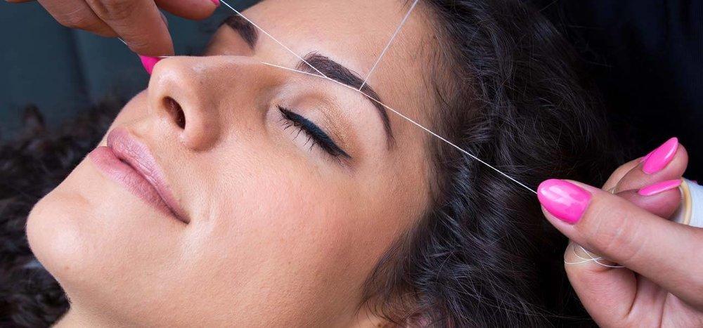 Divine Eyebrow Threading