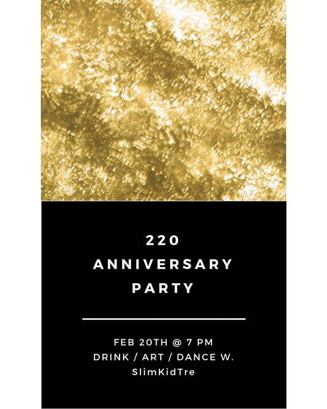 SAVE THE DATE!  come celebrate with us!