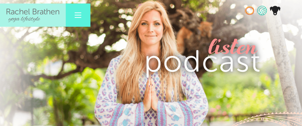 from the heart, conversations with yoga girl podcast - best women's podcasts