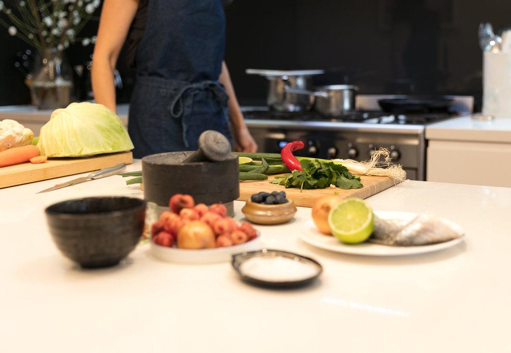 Caroline Brakewell Healthy Cooking Series