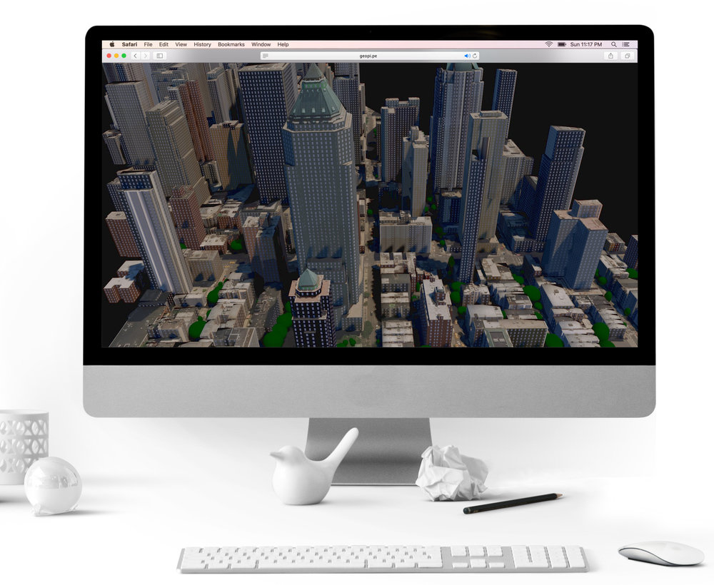Geopipe. Christopher Mitchell & Thomas Dickerson  - New York University and Brown University. From NYC Media Lab Combine, Geopipe builds immersive virtual copies of the real world automatically for architects and beyond.