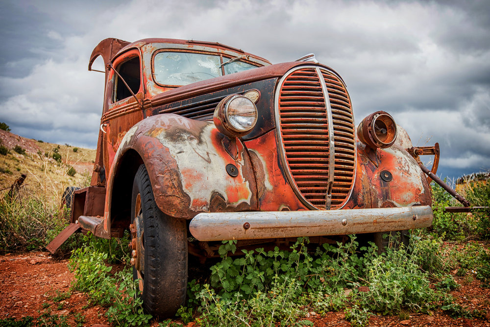 OLD RUSTY