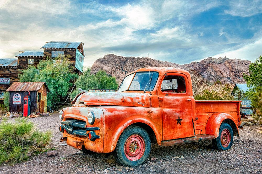 OLD TRUCKS -